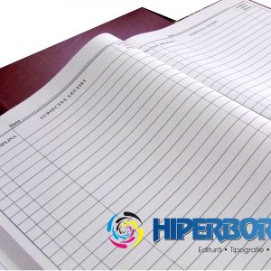 Condică pentru evidenţă cadre didactice, coperta carton gros-hartie-37886