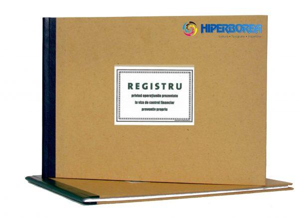 Registru control financiar preventiv propriu