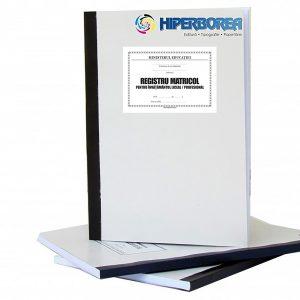 Registru matricol pentru învăţământul liceal / profesional