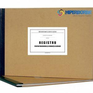 Registru pentru înscrierea şi evidența elevilor