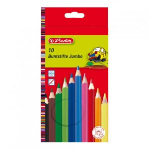 Creioane colorate Herlitz 10 culori-0