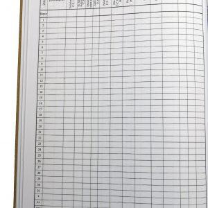Registru evid. cititorilor în curs.lunii şi evid. public.-40077