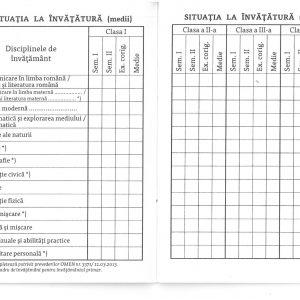 Carnet de elev pentru clasele I – IV-39874