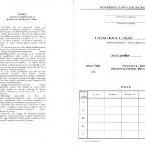 Catalog pregătitoare, coperta carton gros-hartie -40406