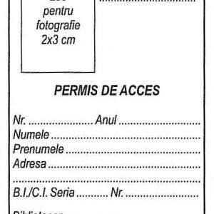 Permis de acces