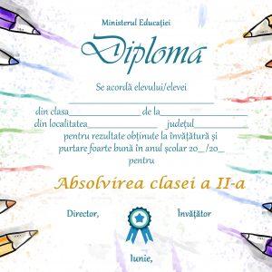 A_05 Diploma Premiu clasa a 2-a