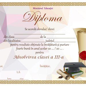 A_07 Diploma Premiu clasa a 3-a