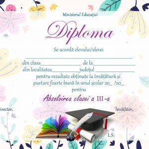 A_08 Diploma Premiu clasa a 3-a