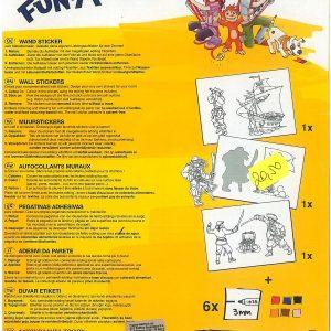 Funtastics wall sticker-37982