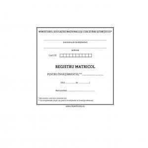 Registru matricol liceal/profesional, coperta tare-imitatie piele-39639