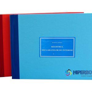 Registrul declaratiilor de interese, coperta carton gros-hartie-38337
