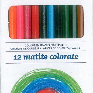 Creioane colorate Primo 12 culori-0