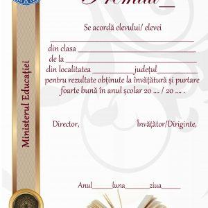 A_22 Diploma de acordare a premiului
