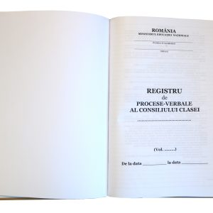 Registru procese verbale al Consiliului Clasei-40437