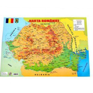 Harta României A3-0